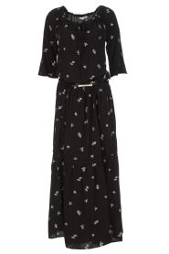 Patrizia Pepe |  Maxi dress Nina | black  | Picture 1