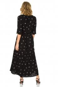 Patrizia Pepe |  Maxi dress Nina | black  | Picture 4