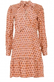 Kocca | Dress with print Ris | red  | Picture 1