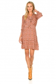 Kocca | Dress with print Ris | red  | Picture 3