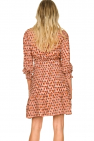 Kocca | Dress with print Ris | red  | Picture 6