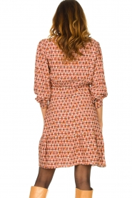 Kocca | Dress with print Ris | red  | Picture 5
