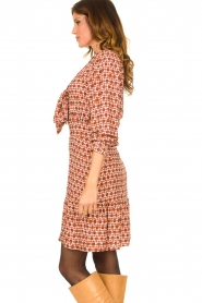 Kocca | Dress with print Ris | red  | Picture 4