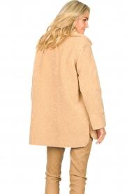 Set |  Teddy coat Cecile | camel  | Picture 6