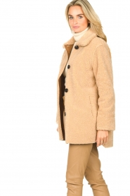 Set |  Teddy coat Cecile | camel  | Picture 5