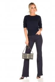Patrizia Pepe | Flair jeans Angelina | blauw  | Afbeelding 3