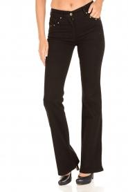 Patrizia Pepe | Flair jeans Angelina | zwart  | Afbeelding 2