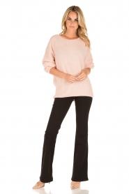 Patrizia Pepe | Flair jeans Angelina | zwart  | Afbeelding 3