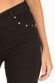 Patrizia Pepe | Flair jeans Angelina | zwart  | Afbeelding 6