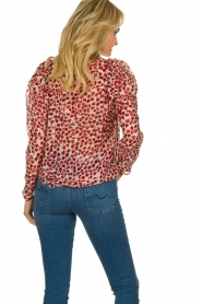 Munthe |  Blouse Jadyn | red  | Picture 6