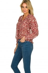 Munthe |  Blouse Jadyn | red  | Picture 5