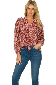 Munthe |  Blouse Jadyn | red  | Picture 2