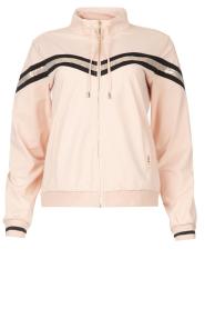 Liu Jo Sport |  Cardigan with sequins Felpa | pink  | Picture 1