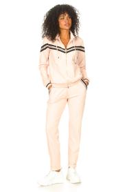 Liu Jo Sport |  Cardigan with sequins Felpa | pink  | Picture 3