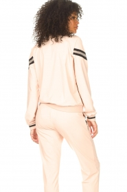 Liu Jo Sport |  Cardigan with sequins Felpa | pink  | Picture 6