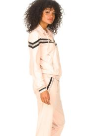 Liu Jo Sport |  Cardigan with sequins Felpa | pink  | Picture 5