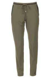 Liu Jo Sport    Sweatpants with glitters Teanna   green    Picture 1