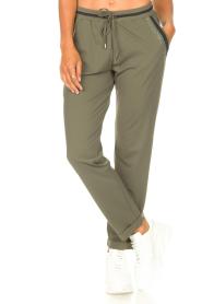 Liu Jo Sport    Sweatpants with glitters Teanna   green    Picture 4