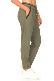 Liu Jo Sport    Sweatpants with glitters Teanna   green    Picture 5