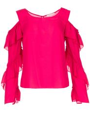 Patrizia Pepe | Top met blote schouders Kourt | roze  | Afbeelding 1