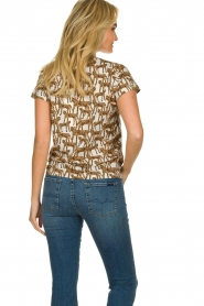 Munthe |  T-shirt with leopard print Jeremy | animal print  | Picture 6