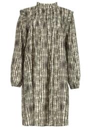 Silvian Heach |  Printed dress Bartlett | black  | Picture 1