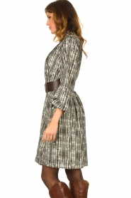 Silvian Heach |  Printed dress Bartlett | black  | Picture 5