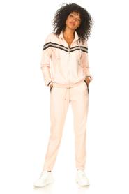 Liu Jo Sport    Sweatpants with glitters Teanna   pink    Picture 3