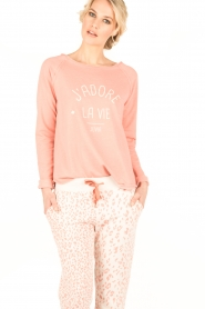 Juvia   Sweater La Vie   roze    Afbeelding 2