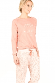 Juvia | Sweater La Vie | roze  | Afbeelding 4