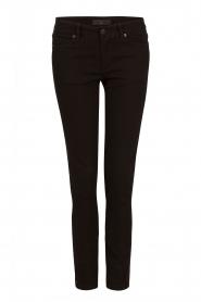 IKKS | Cropped jeans Pradelle | zwart  | Afbeelding 1