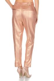 Patrizia Pepe | Pantalon Golden Blush | oudroze  | Afbeelding 5