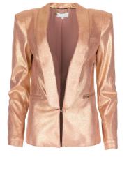 Patrizia Pepe | Blazer Golden Blush | roze  | Afbeelding 1