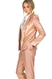 Patrizia Pepe | Blazer Golden Blush | roze  | Afbeelding 4