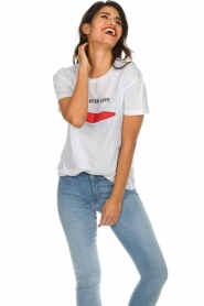 Set |  Printed T-shirt Pepper | white  | Picture 3
