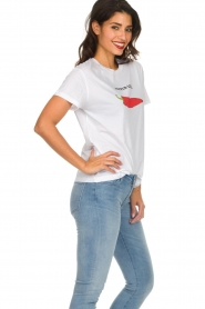 Set |  Printed T-shirt Pepper | white  | Picture 4