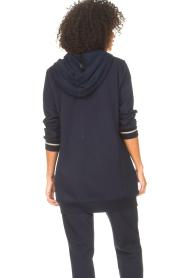Liu Jo Sport |  Tunic sweater with glitters Jade | blue  | Picture 7
