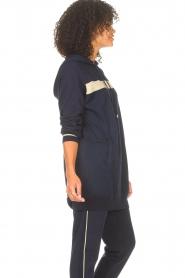 Liu Jo Sport |  Tunic sweater with glitters Jade | blue  | Picture 6
