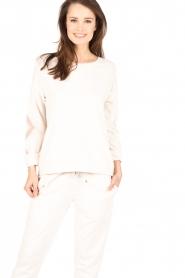 Juvia | Sweater Miu | licht beige  | Afbeelding 2