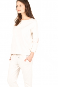 Juvia | Sweater Miu | licht beige  | Afbeelding 4