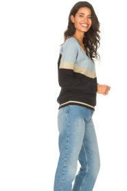 Liu Jo Sport |  Glitter sweater Aperra | black  | Picture 5