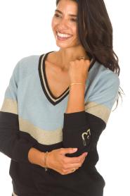 Liu Jo Sport |  Glitter sweater Aperra | black  | Picture 7