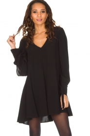 Patrizia Pepe |  Dress Alissa | Black  | Picture 2
