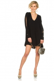 Patrizia Pepe |  Dress Alissa | Black  | Picture 3