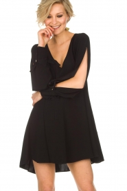 Patrizia Pepe |  Dress Alissa | Black  | Picture 4
