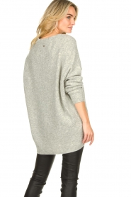 Silvian Heach |  V-neck sweater Marzo | grey  | Picture 6