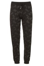 Liu Jo Sport    Sweatpants with lurex Livia   black    Picture 1