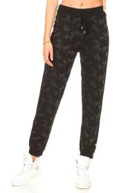 Liu Jo Sport    Sweatpants with lurex Livia   black    Picture 4