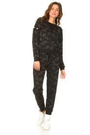 Liu Jo Sport    Sweatpants with lurex Livia   black    Picture 3