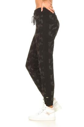 Liu Jo Sport    Sweatpants with lurex Livia   black    Picture 5